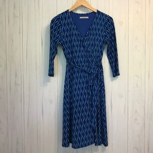 Stitch Fix 41 Hawthorn Blue Wrap Dress S